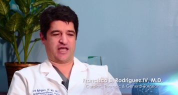 Endovascular Stint with Cardiac, Thoracic & General Surgeon Dr. Francisco Rodriguez